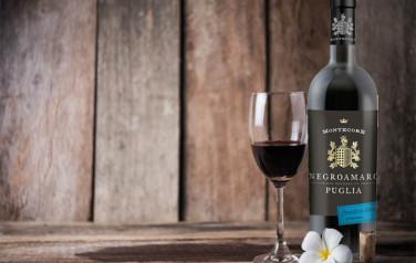 Rượu vang Montecore Negroamaro 2015