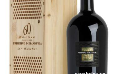Rượu vang Rosso Riserva del Fondatore Primitivo di Manduria 2015