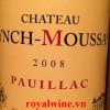 Rượu vang Chateau Lynch Moussas 2008