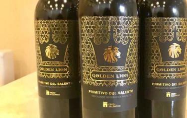 Rượu vang Golden Lion Primitivo del Salento 2015