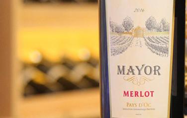 Rượu vang Mayor Merlot