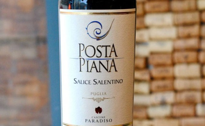 Rượu vang Posta Piana Primitivo Puglia