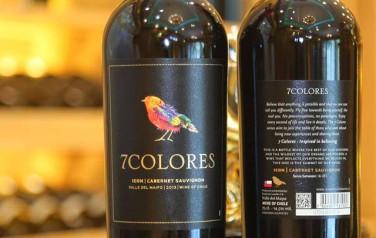 Rượu vang 7Colores Cabernet Sauvignon