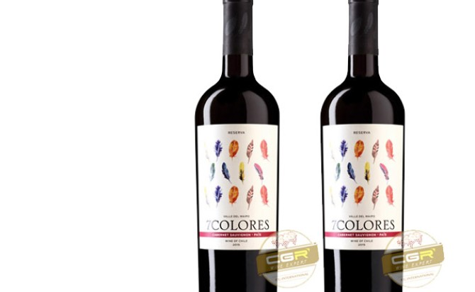 Rượu vang 7Colores Reserva Pais