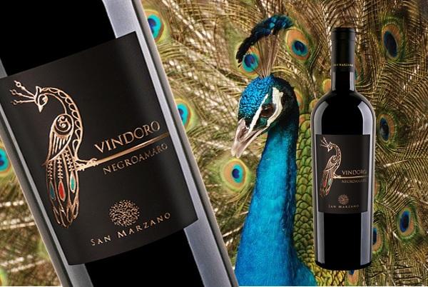 Vang ý Vindoro Chim Công