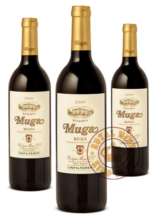 Rượu vang TBN Muga Rioja