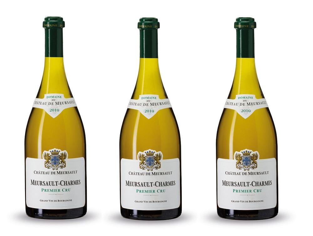 Rượu vang Pháp Chateu de meusault Meursault Charmes Premier cru Chardonnay Burgundy France