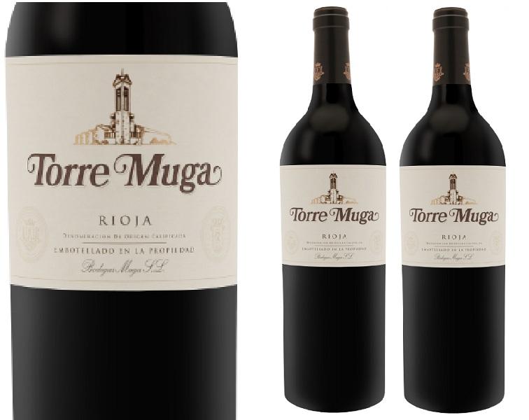Kết quả hình ảnh cho rượu vang tây ban nha muga torre