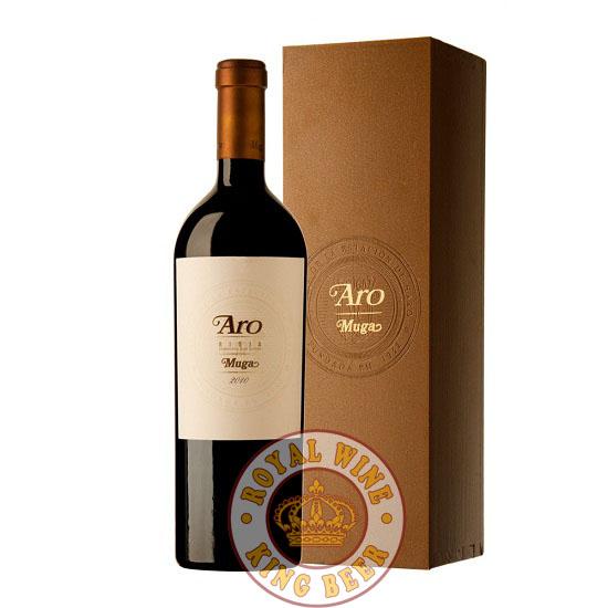 Rượu vang TBN Aro Muga