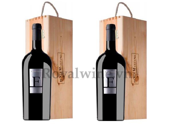 Rượu vang ý F Negroamaro 1,5 Lít