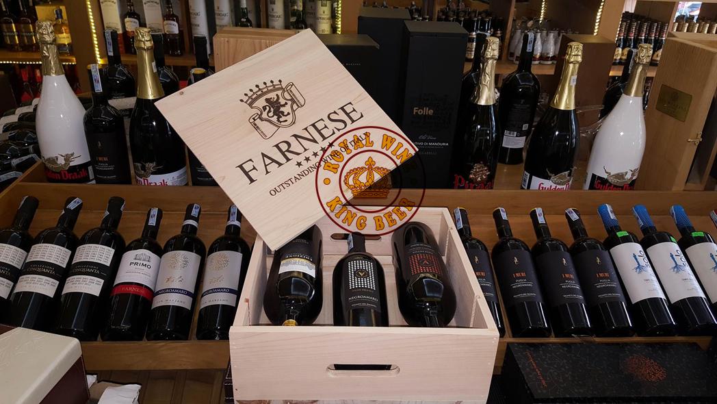 Rượu vang Ý Farnese