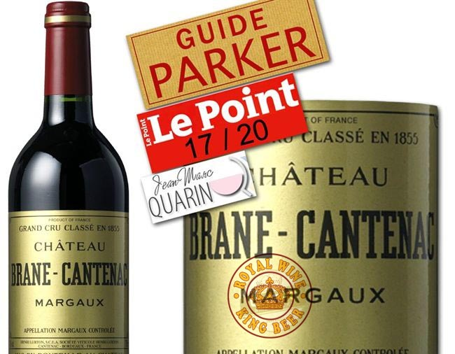 Vang Pháp Chateau Brane Cantenac Margaux France