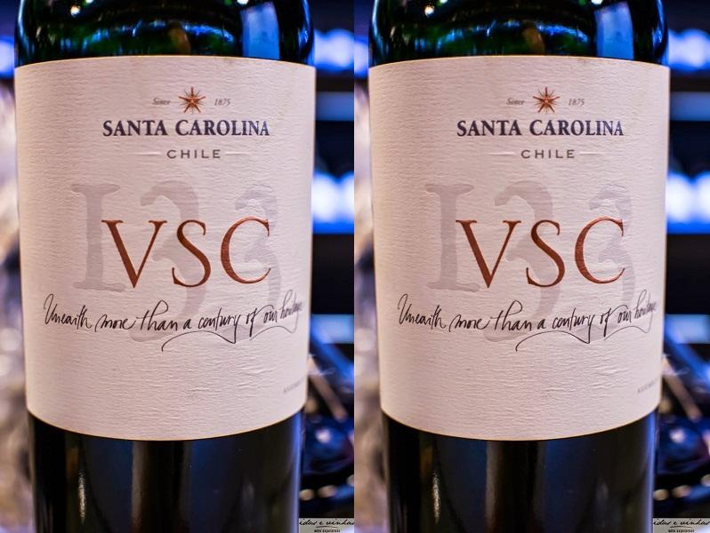 Rượu vang Chile VSC Santa Carolina