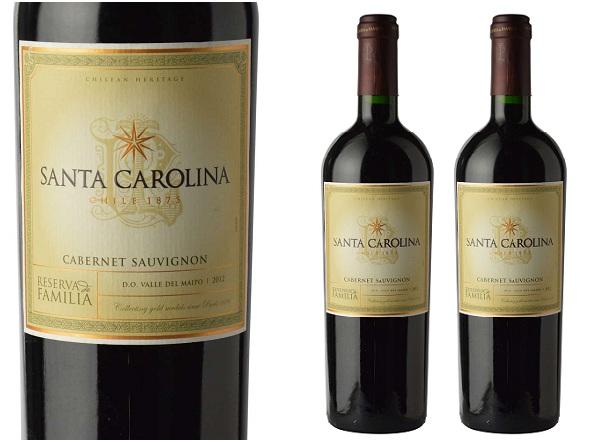 Kết quả hình ảnh cho santa carolina reserva de familia cabernet sauvignon