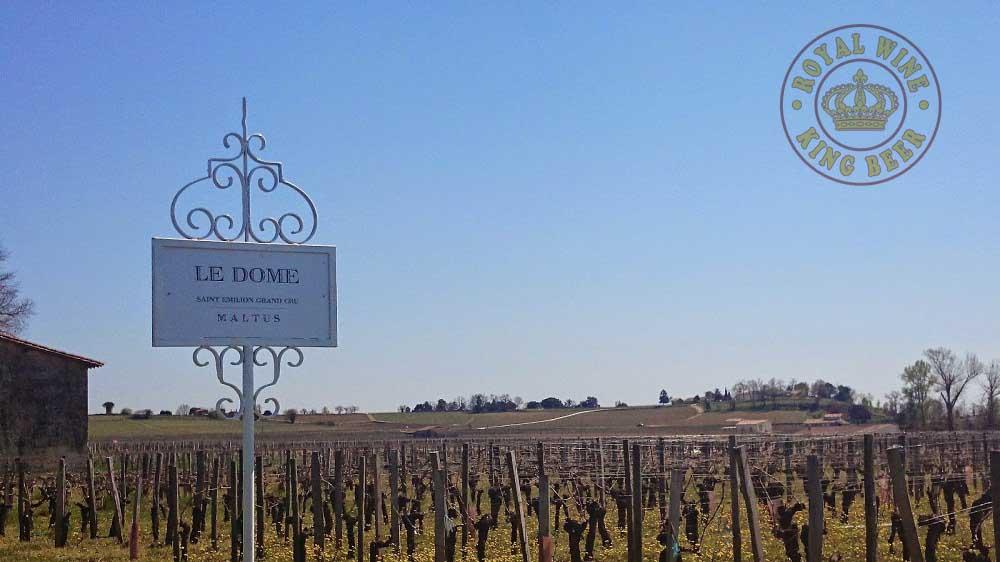 Rượu vang Pháp Le Dôme