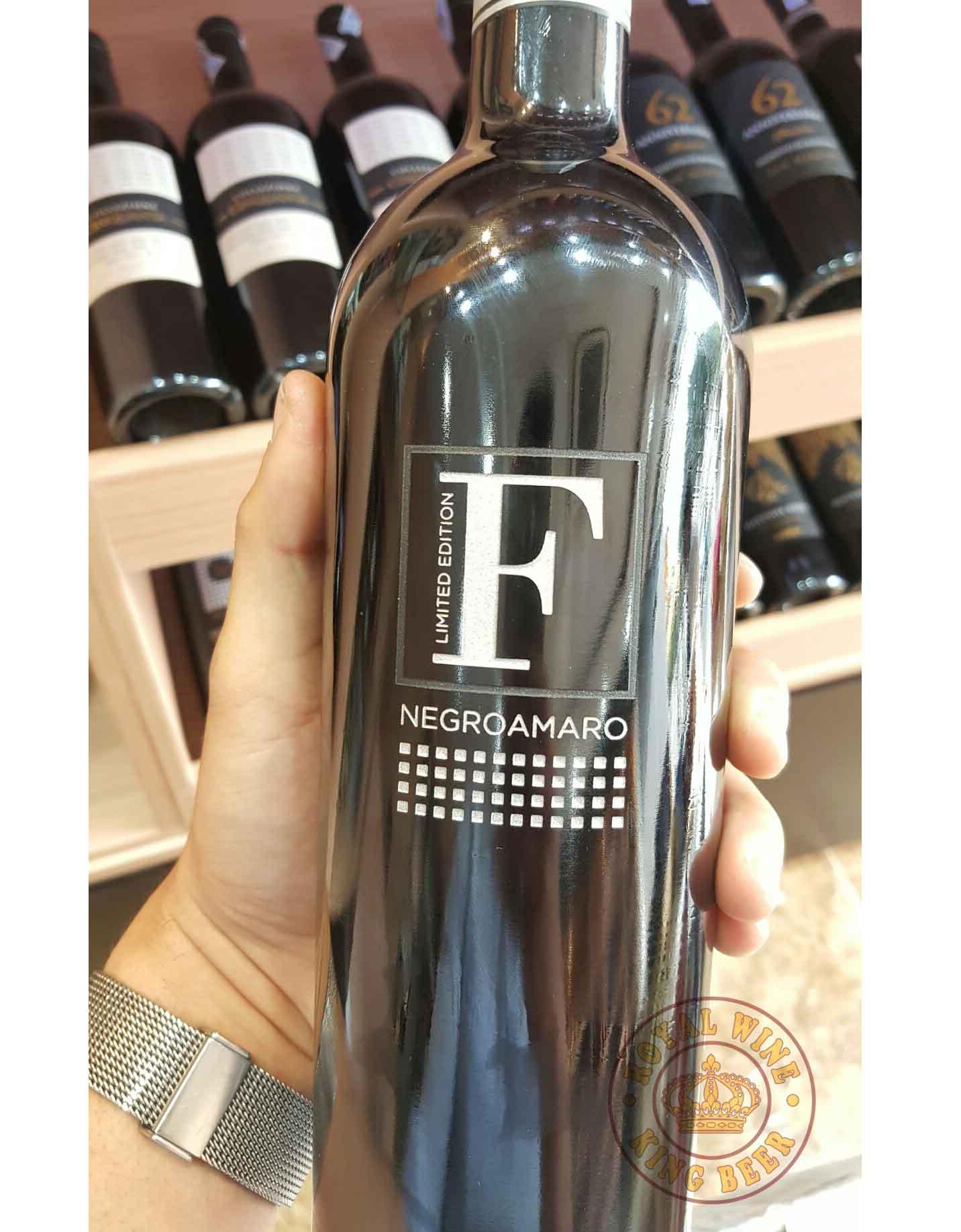rượu vang Ý San Marzano F Negroamaro Limited