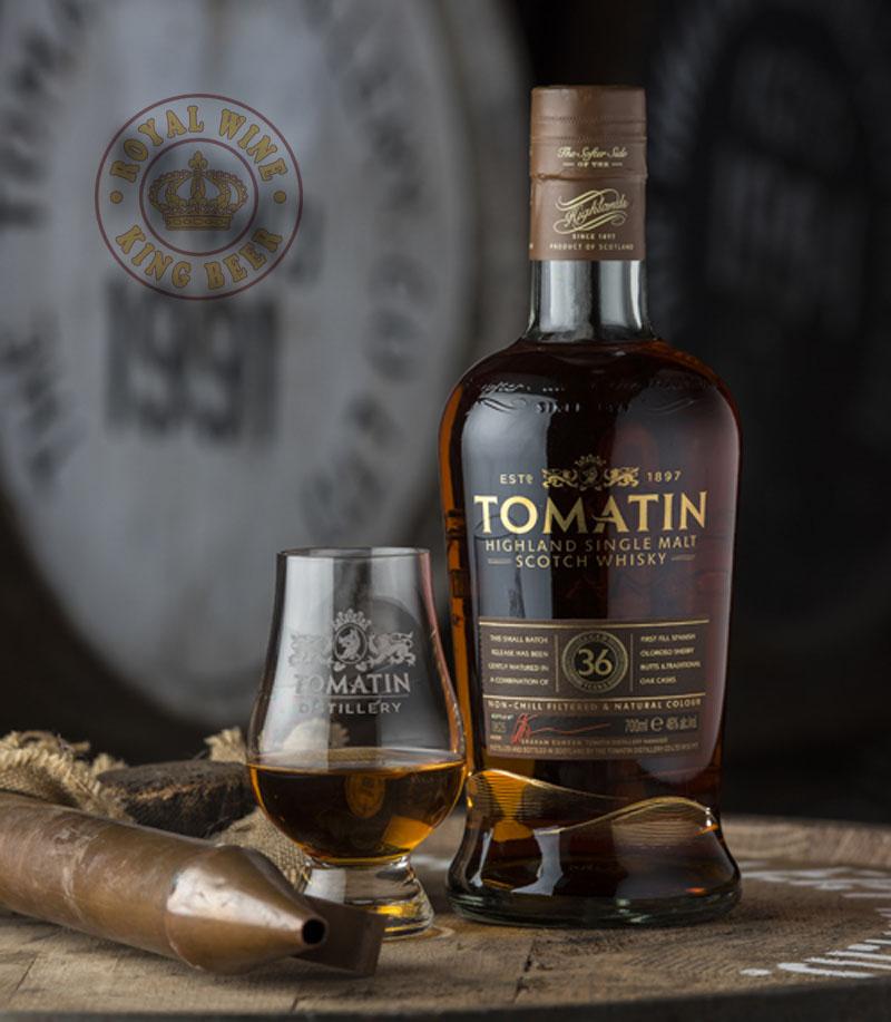 Rượu Tomatin 36 Single Malt Scotch Whisky