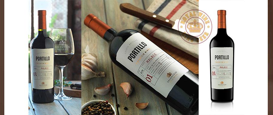 Rượu vang Portillo Malbec
