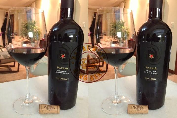 Rượu vang Pazzia Luccarelli