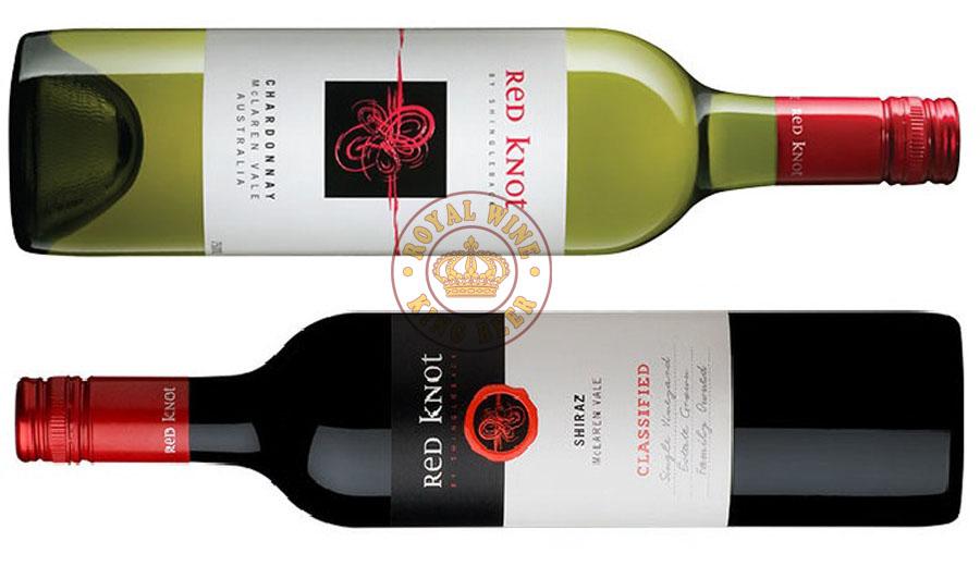 Rượu vang Úc Red Knot Shiraz - Chardonnay