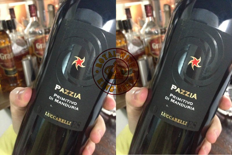 Rượu vang Ý Pazzia Luccarelli