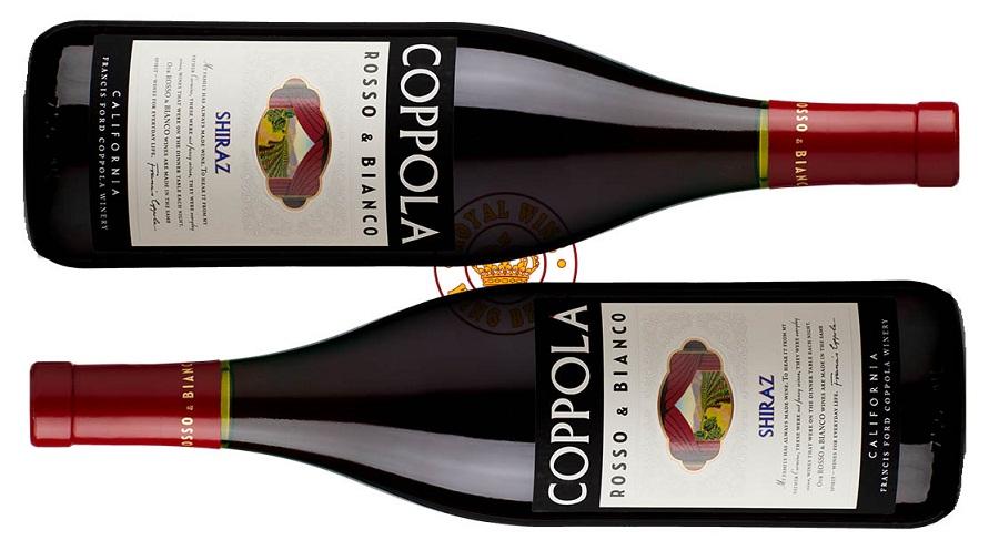 Rượu vang Mỹ Coppola Rosso & Bianco Shiraz
