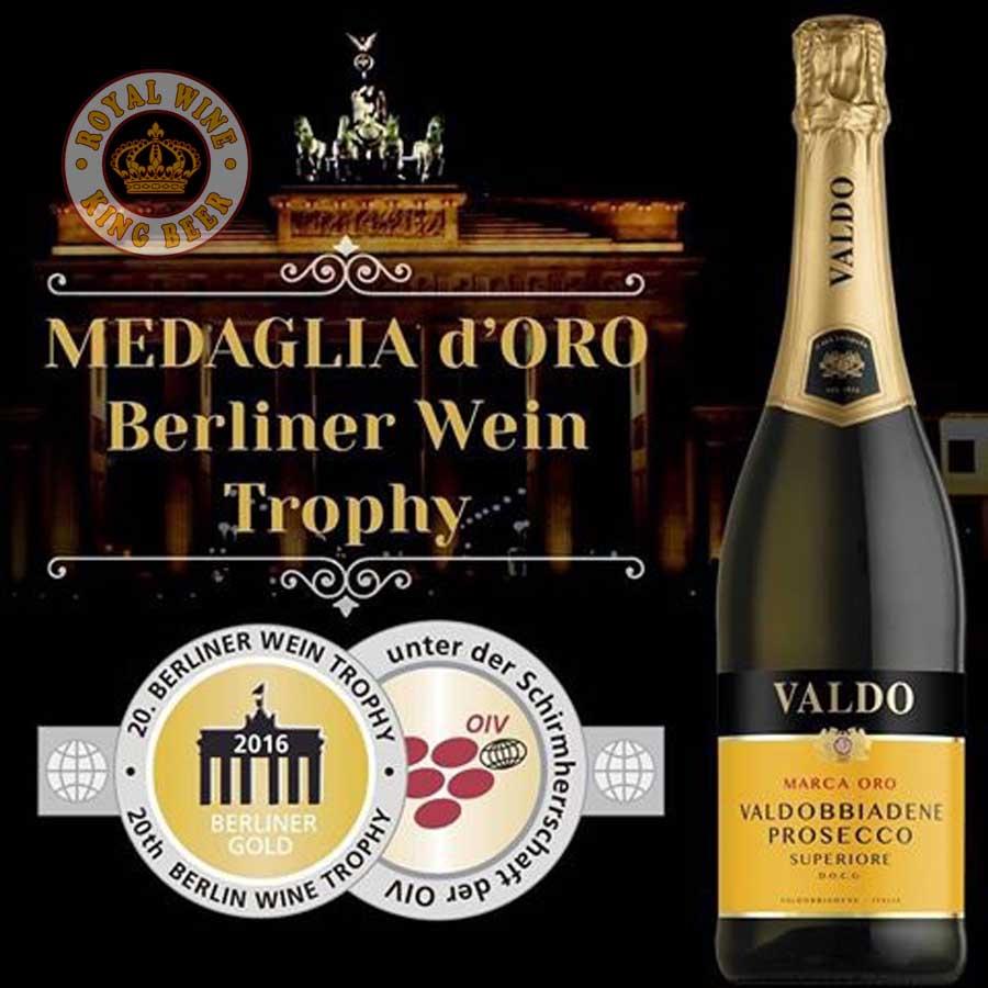 Rượu sủi tăm Valdo Valdobbiadene Prosecco