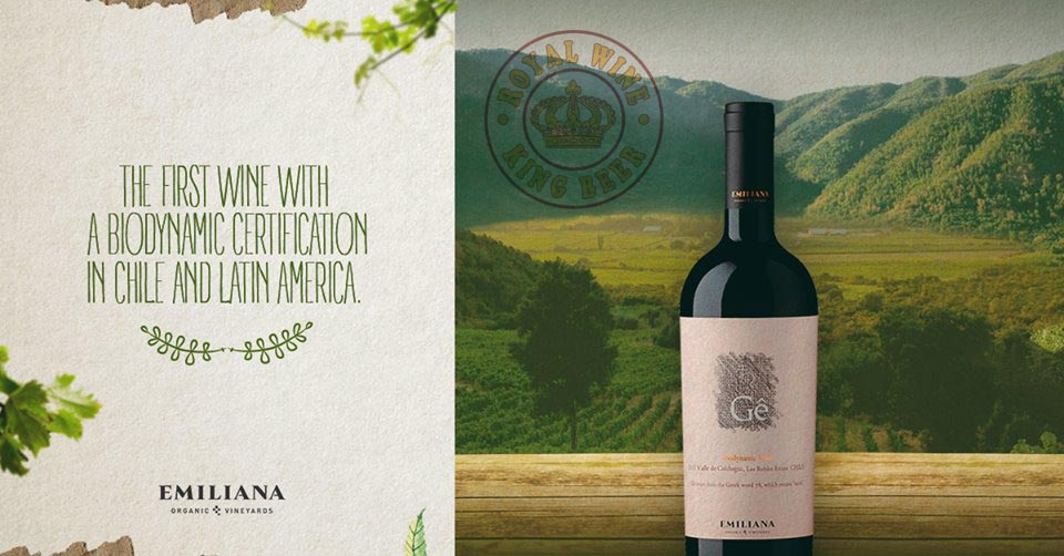 Rượu vang Emiliana Gê Ensamblaje