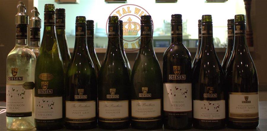Rượu vang New zealand Giesen the brothers chardonnay giá bán rẻ nhất