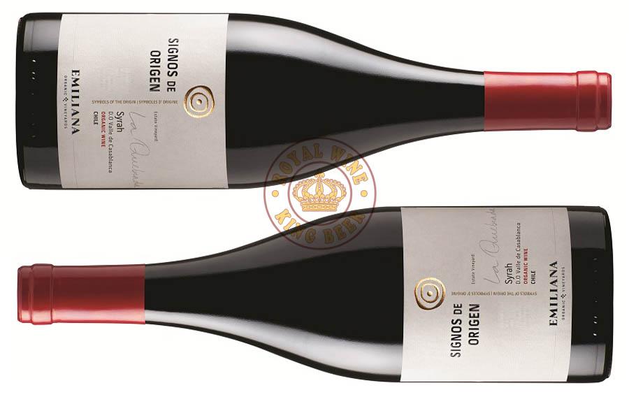 Rượu vang Chile Signos de Origen Emiliana