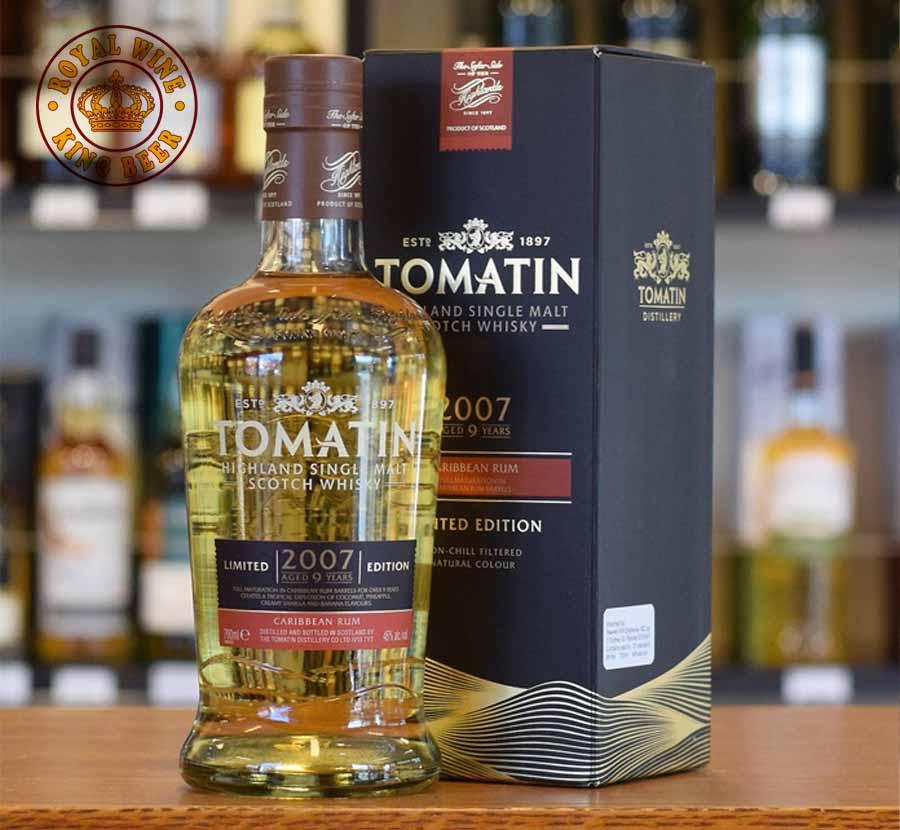 Rượu Tomatin 2007 Caribbean Rum Limited Edition
