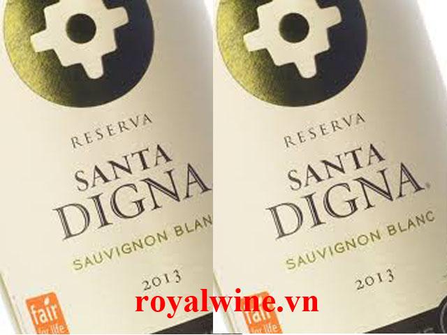 Rượu vang Miguel Torres Santa Digna Sauvignon Reserva