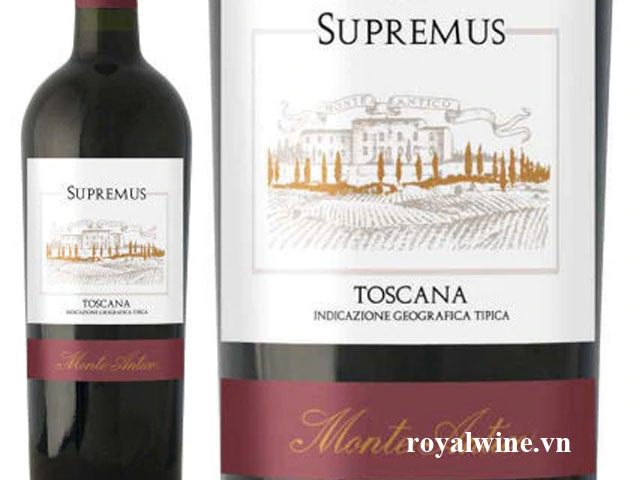 Rượu vangSupremus Tuscana