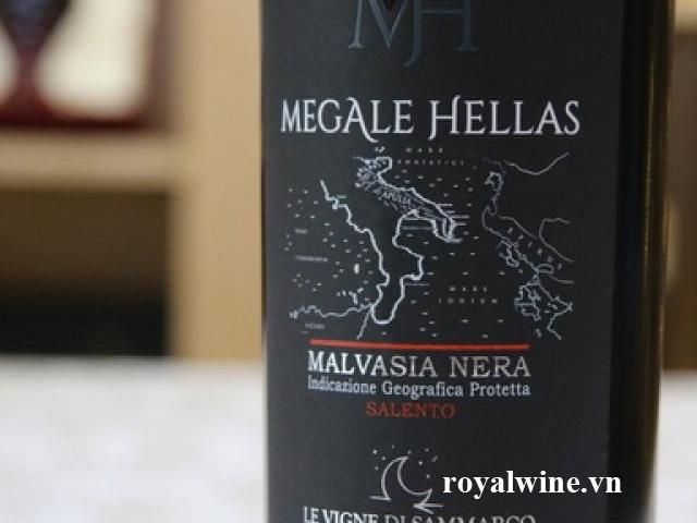 Rượu vang Megale Hellas Malvasia Nera