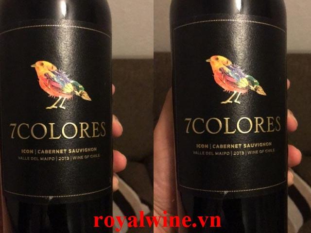 Rượu vang7Colores Cabernet Sauvignon