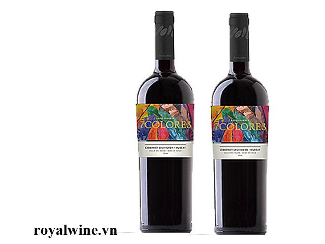 Rượu vang 7Colores Gran Reserva Muscat