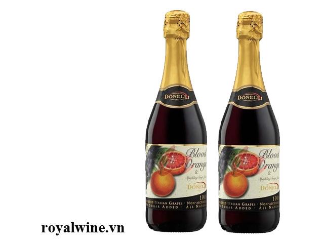 Rượu hoa quả Donelli Blood Orange Grapes Juice