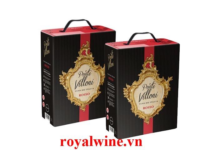 Rượu vang Ponte Villoni Rosso