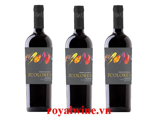 Rượu vang 7Colores Reserva de Familia Red Blend