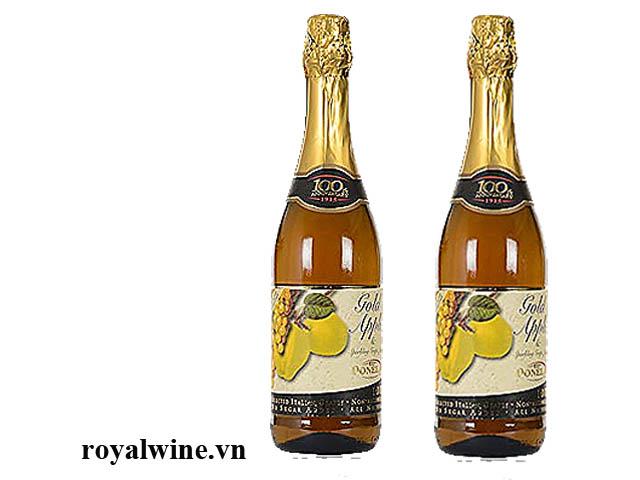 Rượu hoa quả Donelli Gold Apple Grapes Juice