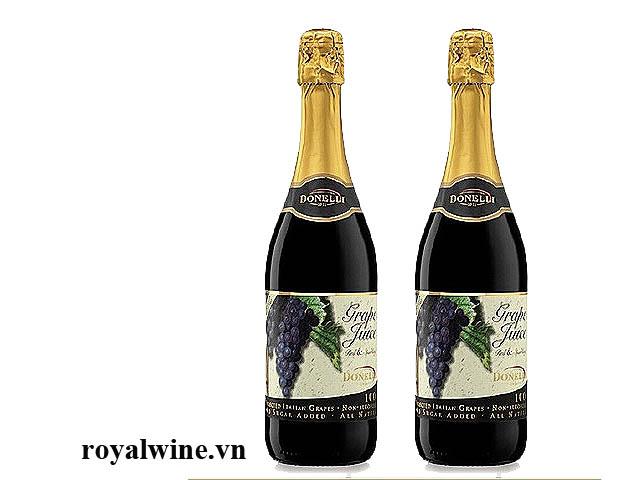 Rượu hoa quả Donelli Grapes Juice