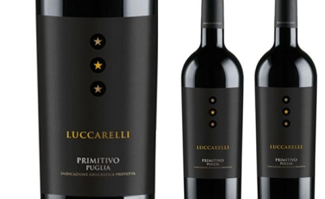 Vang Ý Luccarelli Primitivo Puglia