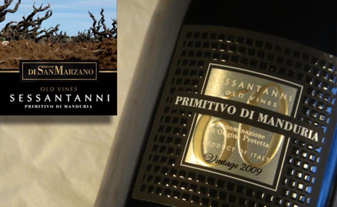 Rượu vang Ý Sessantanni Primitivo di manduria – 60 Old Vines