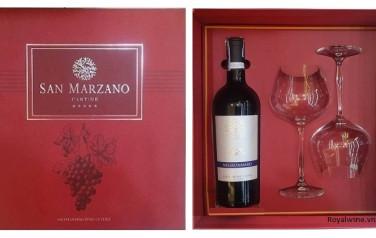 Rượu vang Falo negroamaro Hộp quà