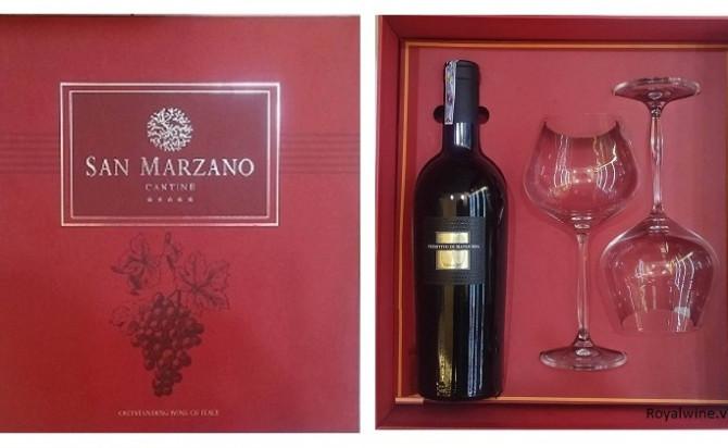 Rượu 60 năm Primitivo di manduria Hộp quà
