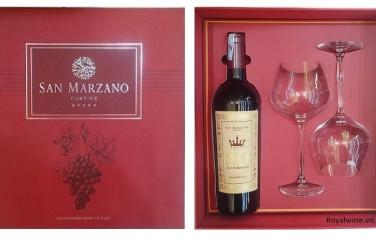 Rượu 50 năm Anniversario Hộp quà