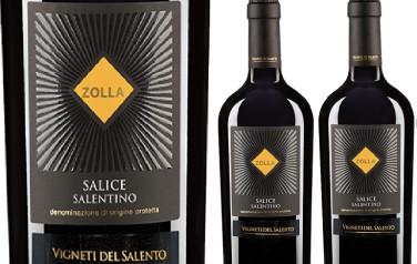Rượu vang Ý Zolla Salice Salentino