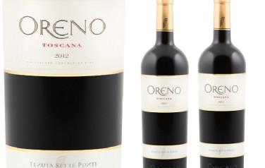 Rượu Vang Ý Oreno Toscana Tenuta Sette Ponti