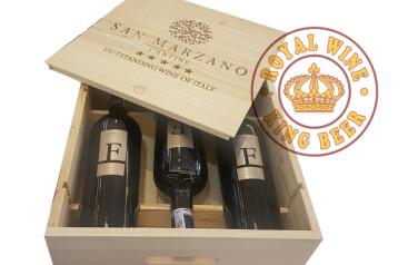 Rượu vang F hộp quà đặc biêt 3 chai