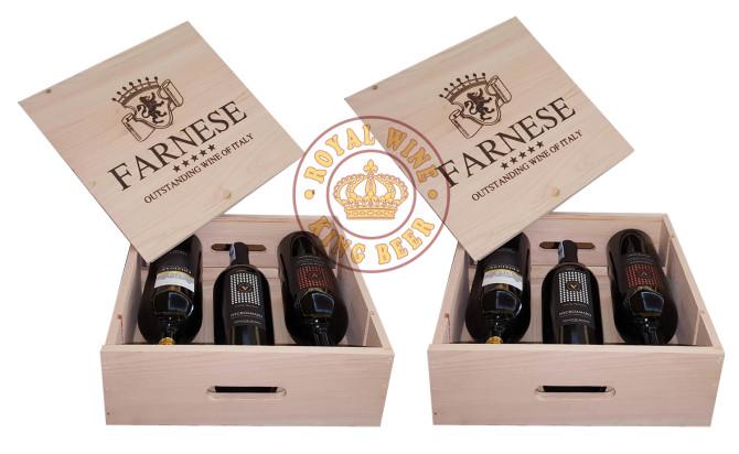 Rượu vang Ý Farnese đặc biệt hộp quà cao cấp